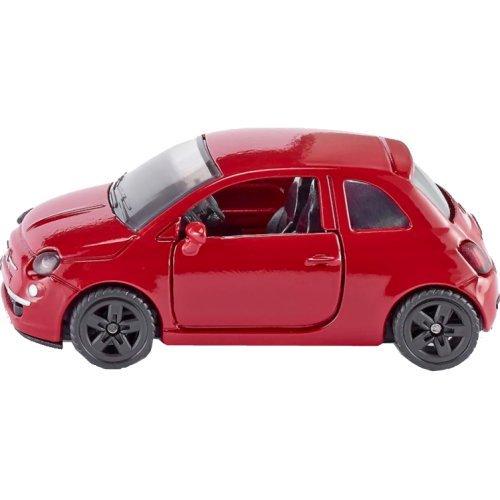 SIKU 1453 - Voiture Fiat 500, Jouet Pour Enfants, Métal/Plastique, Pneus En Caoutchouc, Vert