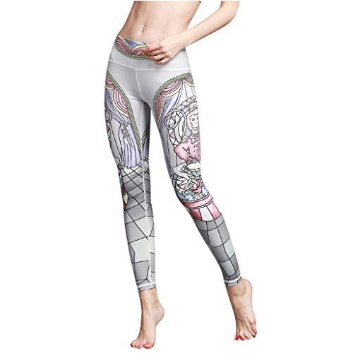 Felicove Leggings für Damen, Damen Laufhose Stretchy Hose für Fitness Yoga Sport Pants Freizeithose Jogginghose Winterleggings Thermoleggings Strumpfhose Hose Sport Strumpfhose Leggings -