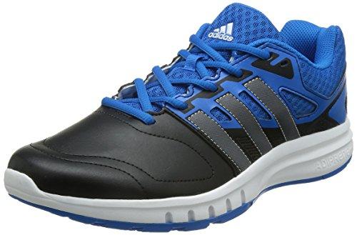 adidas Galaxy Trainer, Chaussures de Football Compétition Homme Multicolore - Azul / Negro (Azuimp / Nocmét / Negbas)