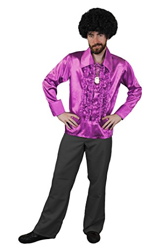 Kostüm Ziggy Fancy Stardust Dress (DISCO DANCE NIGHT FEVER KOSTÜM FÜR DIE PERFEKTE KULT ODER HITPARADEN VERKLEIDUNG DER 70iger ODER 80iger JAHRE UND FÜR DIE PERFEKTE KOSTÜMIERUNG AN FASCHING ODER KARNEVAL= VON ILOVEFANCYDRESS®= EIN MUß)