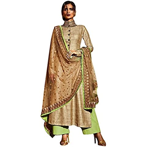 bollywood dritto Salwar Suit Anarkali indiano donne musulmane da sposa