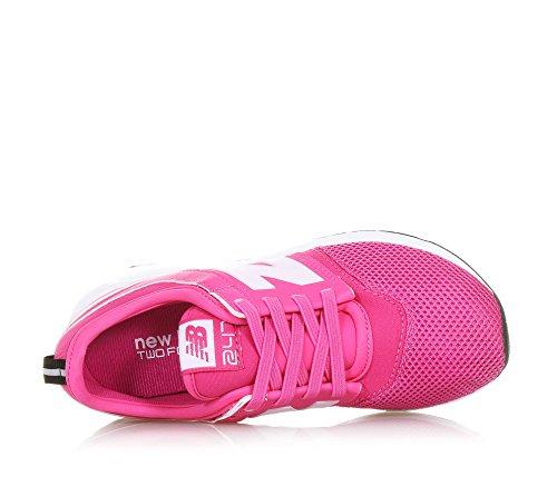 Sneakers in tela con lacci elastici MainApps Fuxia