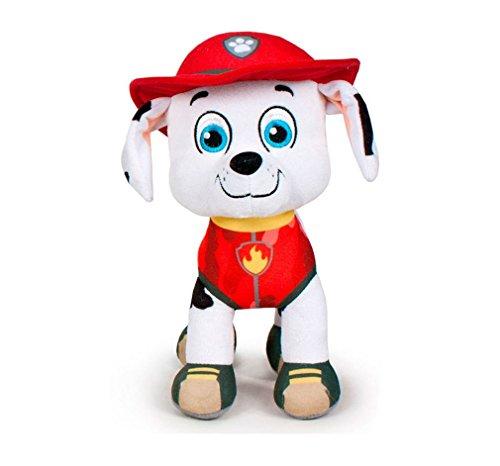Paw Patrol Stofftiere, Originale offizielle Lizenzen 7 verschiedene Charaktere verfügbar (Marshall: Red firefighter dog)