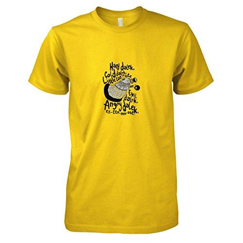 - Herren T-Shirt, Größe XXL, gelb ()