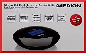 MEDION MD 86672 Wireless LAN Musik Streaming Adapter DMR mit Internetradio
