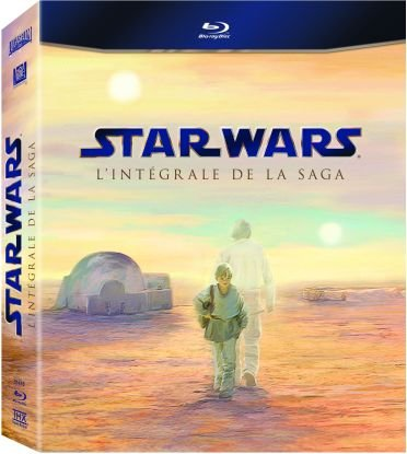FOX PATHE EUROPA Star Wars - L'intégrale de la saga [Coffret 9 Blu-ray]