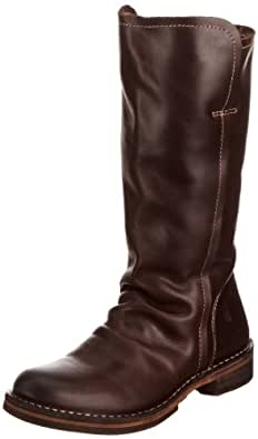 Fly London Nobo Leather, Boots femme Marron - Dk Brown 39