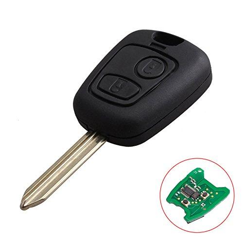 Zongsi sostituzione 2pulsanti 433MHz telecomando auto con lama vergine chiave transponder chip ID46per Citroen Xsara Picasso Berlingo