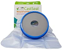 Adult Foot Cast Protector by Fit Life Health - Waterproof CastSeal Sleeve for Bath Or Shower Use - Suitable for Men and Women