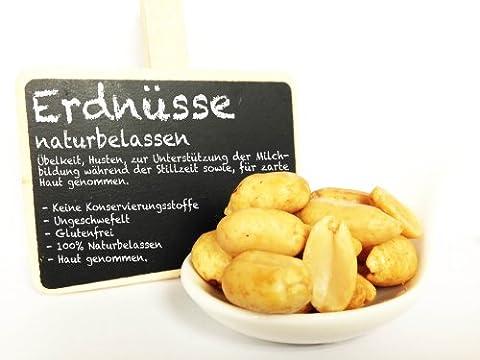 Erdnüsse, Erdnusskerne, ohne Zusatzstoffe -