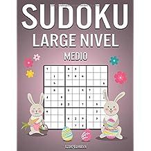 Sudoku Large Nivel Medio: 200 Sudoku de Nivel Medio con Instrucciones y Soluciones - Large Edición de Pascua