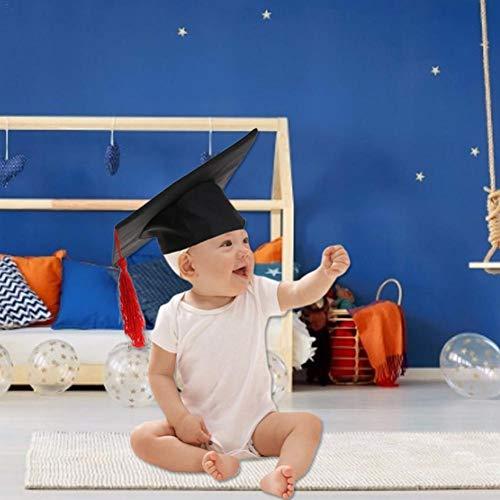 NOWAYTOSTART Doktor-Hut Akademiker Absolventen-Hut Kostüm für Erwachsene - perfekt für Fasching,Karneval & Halloween - One Size Größe Erwachsene, Farbe: schwarz (1 - Lustige Kostüm Für Sie Und Ihn