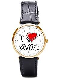 hiyane correas de cuero para relojes Avon para correas de reloj de piel
