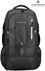 VIP Aristocrat Unisex Hiking Backpack (Black, 45L)