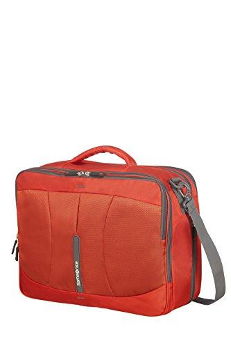 Imagen de samsonite 4mation 3 way shoulder bag exp  tipo casual, 36.5 litros, color rojo/gris