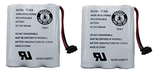 UNIDEN bt-905schnurlose Telefonhörer Akku 3,6V 600mAh NiMH