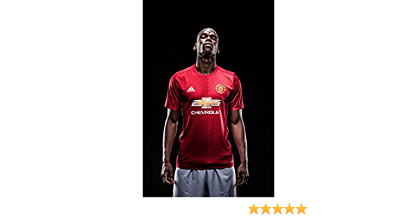 Manchester United 43cm x 61cm // 17 Inches x 24 Inches A2 Man Utd Football Wall Poster Print Paul Pogba