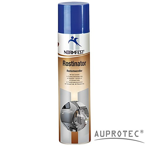 Auprotec® Normfest Rostumwandler Rostinator Rost Off Roststopp Converter Korrosionsschutz 400ml (1 Dose)