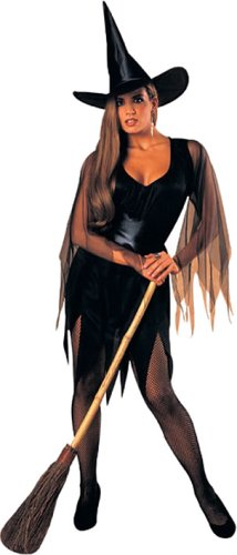 Rubie's 'Strega Sexy' Costume per il Mardi Gras o Halloween [tessuti]