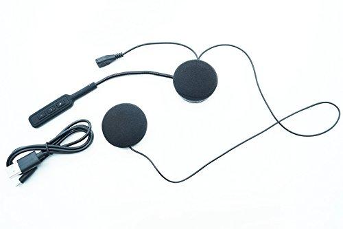 MICROFONO AURICOLARI BLUETOOTH IMPERMEABILE CASCO MOTO SCOOTER CHIAMATE MP3 J008