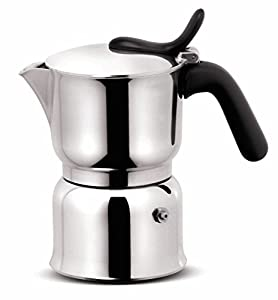 Lagostina Stove Top Espresso Maker 250ml (Makes 6 Espressos)