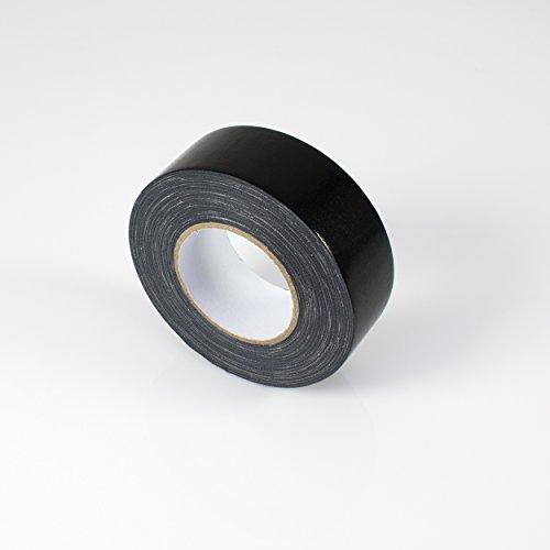 Gaffa Tape schwarz, 50m x 50mm - Gewebeklebeband / Bühnenklebeband - showking