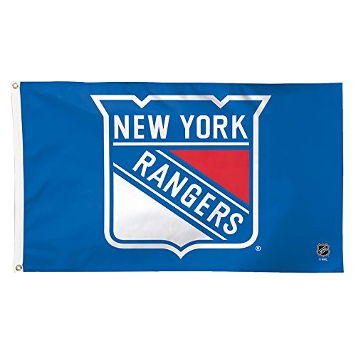 NHL New York Rangers Deluxe Flag, 91x 152cm (3'x 5'), multicolor by Wincraft