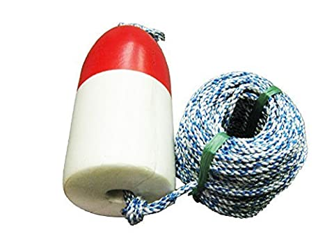 KUFA 100' non-lead sinking line & 11'' Red/White float combo