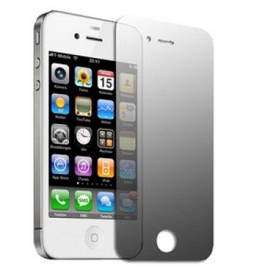Logotrans Circle Series Silikon Schutzhülle für Apple iPhone 4 schwarz Weiß
