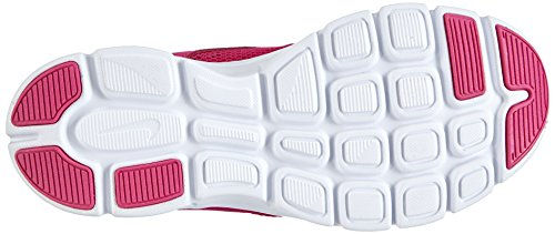 Nike Flex Experience 3 (gs), Running Entrainement Fille Rose (ht Pnk/mtllc Slvr-frbrry-white 601)