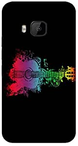 Timpax protective Armor Hard Bumper Back Case Cover. Multicolor printed on 3 Dimensional case with latest & finest graphic design art. Compatible with HTC M9 Design No : TDZ-27781
