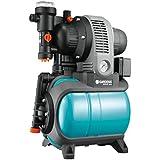 GARDENA 1753-20 Pumpe Classic Hauswasserwerk 3000/4 eco, mit Thermoschutzschalter, Rückschlagventil; Start/Stop Automatik, (650W Leistung, max. Fördermenge 2.800 l/h, max. Förderhöhe 40m)