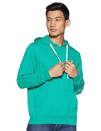Amazon Brand - House & Shields Men's Sweatshirt (AW19-HSS-21_College Green_L)