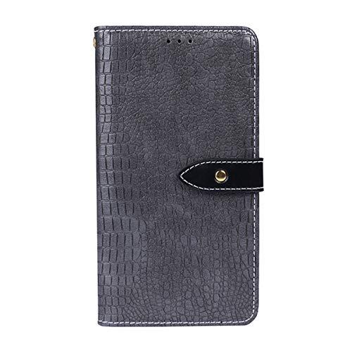 LG G6 Case,LG G6 Case,Design Premium PU Leather Wallet Snap Case Design Design Flip Cover for LG G6 Grey Design Snap Case