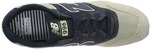 New Balance Herren Mrl996v1 Low-Top Beige (Beige/Blue)