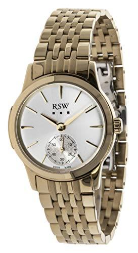 RSW RSWL106 - Orologio da donna analogico al quarzo, in acciaio...