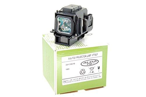 Alda PQ Beamerlampe VT75LP passend für NEC LT280, LT375, LT380, LT380G, VT470, VT670, VT675, VT676, VT75LP Projektoren, Lampenmodul mit Gehäuse
