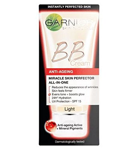 Skin Perfektor (Garnier Skin Perfektor Täglich All-In-One-Anti-Aging-Bb Blemish Balm Creme Licht 50Ml - Packung mit 2)