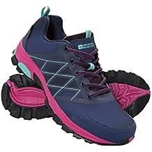 Mountain Warehouse Springbok Womens Running Shoes -Botas de Lluvia Impermeables, Forro de Malla, Sintético Upper Ladies Zapatos de Verano - para la Primavera Viajar