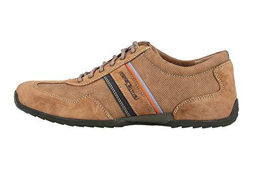 camel active Herren Space 35 Sneaker, Braun (Cord/Navy 1), 49 EU -
