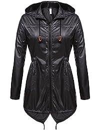 3b981491c139 WEIMEITE Frauen Leichte Packable Outdoor Coat Winddicht Hoodies Regenjacke  Wasserdichte Aktive Outdoor…