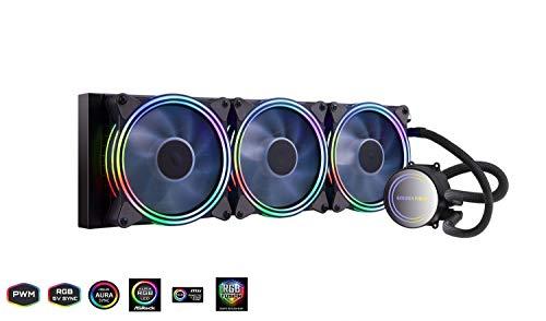 GOLDEN FIELD ICY Chill Series Advanced RGB Liquid CPU Kühler mit Kühler Wasser Kühlsystem für Intel AMD Sockel CPU Kühlung 360mm