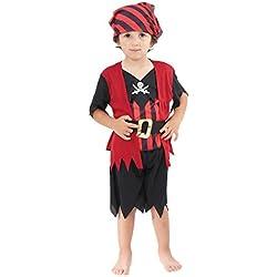 Traje de pirata grumete para niño, (2-3 años )