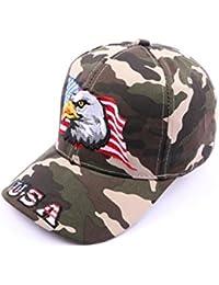 Casquette Aigle drapeau USA Camouflage - Mixte