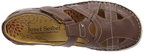 Josef Seibel Nicole 01 Damen Geschlossene Sandalen Braun (950 234 bark)