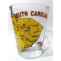 South Carolina membro e la palma All American Collection-Bicchiere
