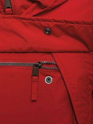OZONEE Herren Winterjacke Steppjacke Sweatjacke Wärmejacke Jacke Parka Gesteppt J.BOYZ X1008K Rot_JS-AK166_KU
