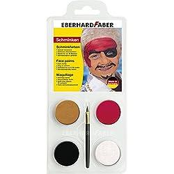 Set de maquillaje para pirata (1x 6unidades)