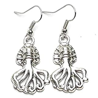 Arras Creations Sea Life Fashion Trendy Octopus Earrings for Women / AZAESL411-ASL