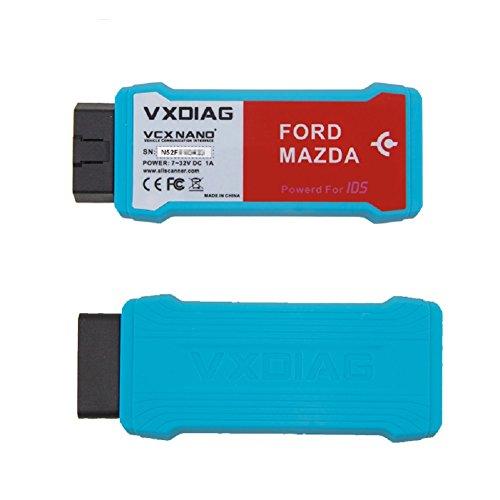 Autool vxdiag VCX Nano Wifi para Ford Mazda 2 en 1 herramienta de  diagnóstico de IDS V106 vxdiag VCX Nano Wifi actualización por CD con  múltiples